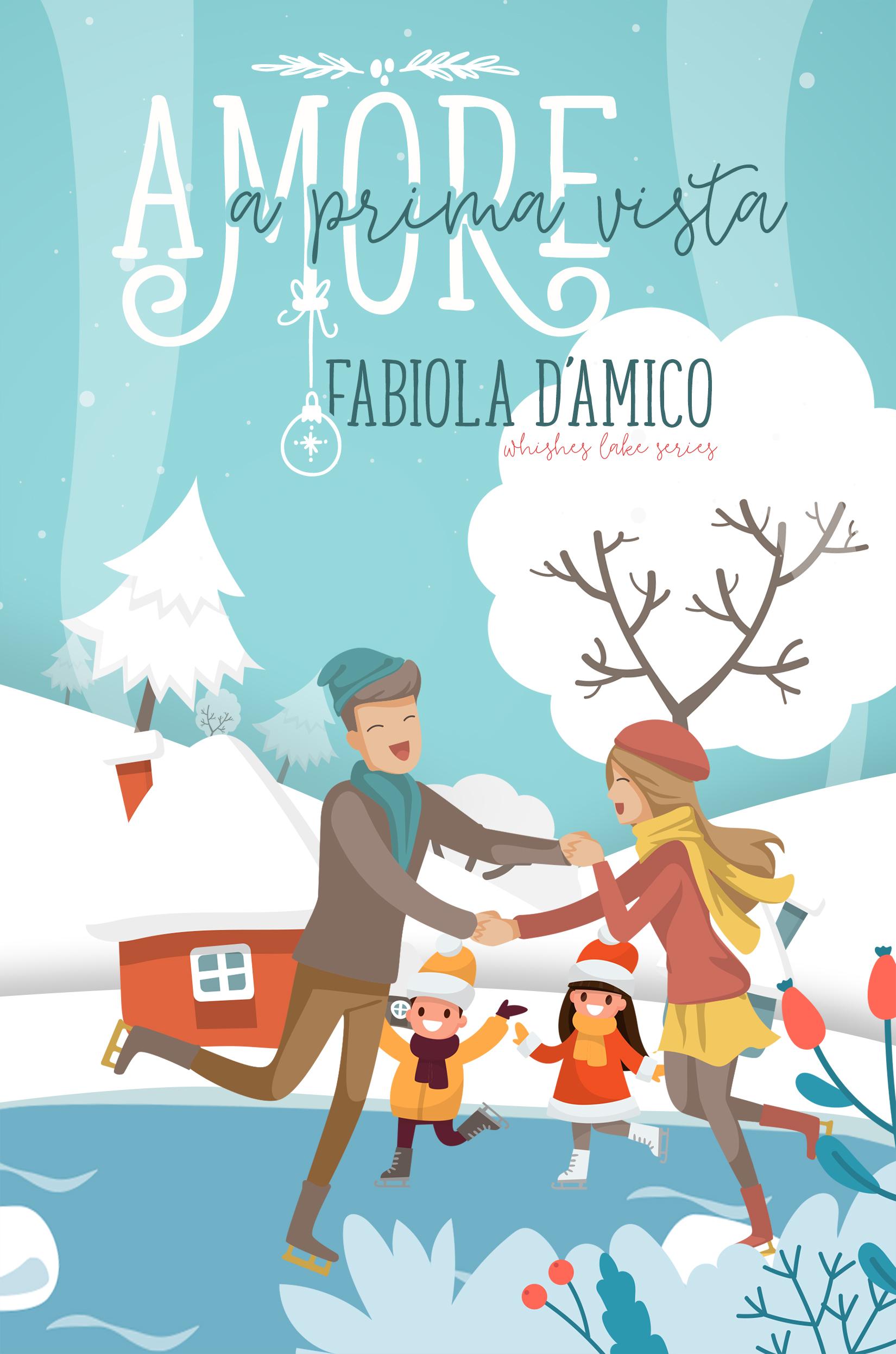 "Cover reveal ""Amore a prima vista"" di Fabiola D'Amico - Letture Sale & Pepe"